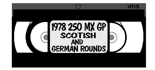 1978 250MX SCOTISH MOTOCROSS GP VIDEO