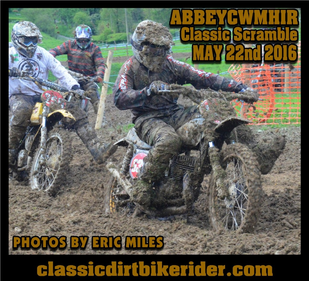 Abbeycwmhir classic scramble photos May 2016 CLASSICDIRTBIKERIDER.COM