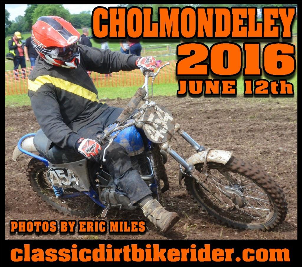 CHOLMONDELEY CLASSIC SCRAMBLE  2016 www.classicdirtbikerider.com