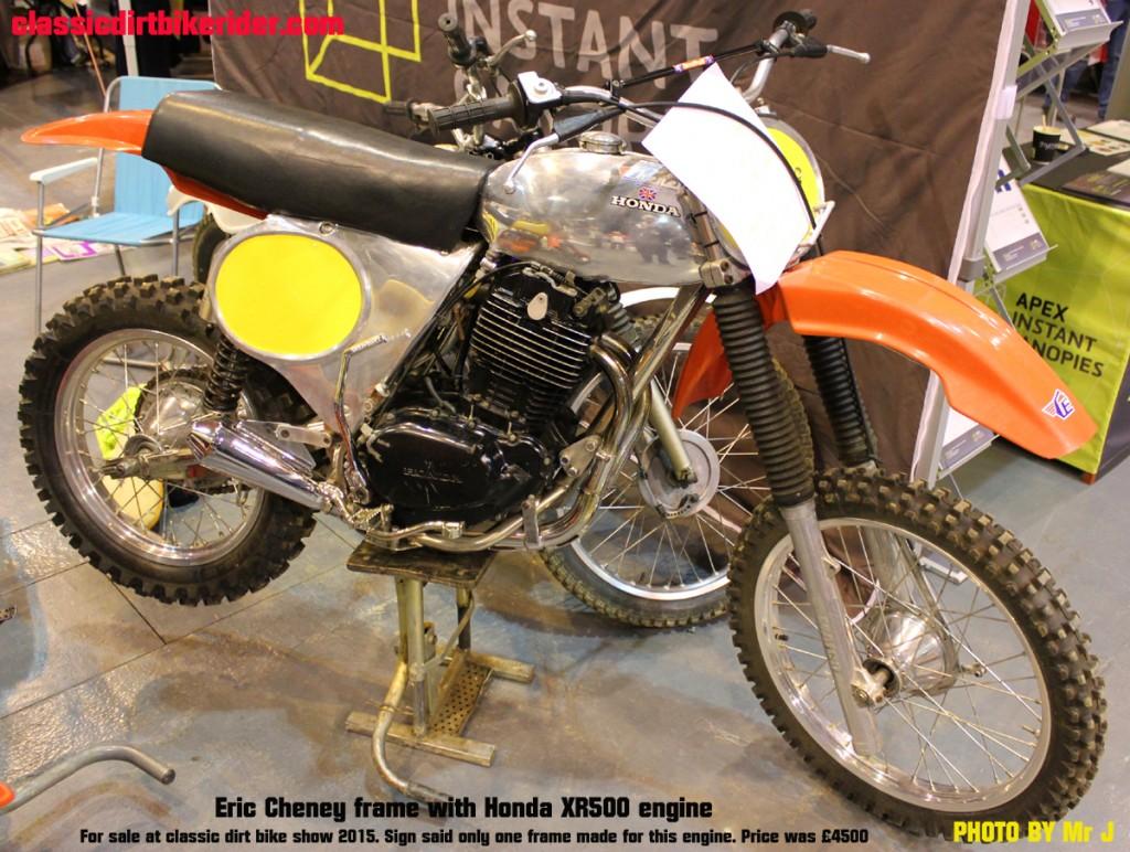 Eric Cheney Honda XR500 classicdirtbikerider.com