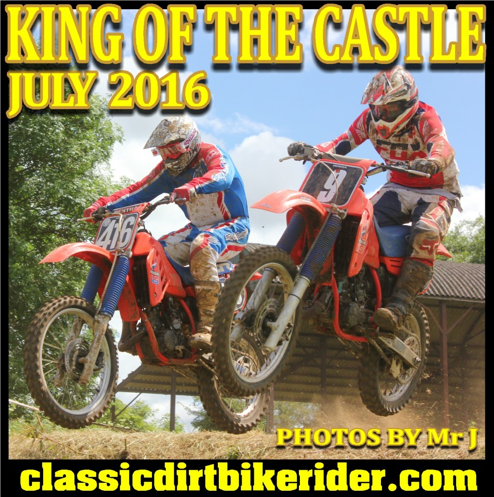 KING OF THE CASTLE 2016 PHOTOS REPORT TWINSHOCK EVO MOTOCROSS CLASSIC SCRAMBLES classicdirtbikerider.com