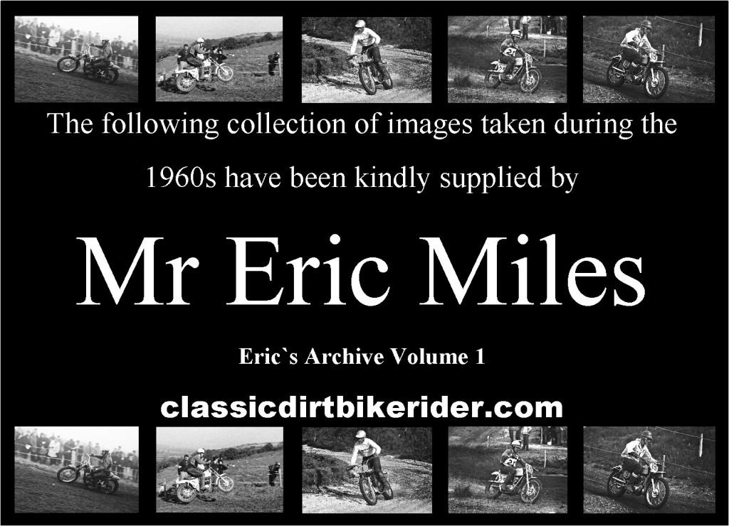 classicdirtbikerider.com Eric Miles Archive volume 1classic scrambles