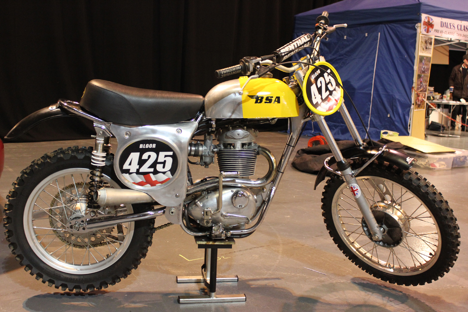 classicdirtbikerider.com-photo by Mr J-2015 Telford classic dirt bike show-BSA B44