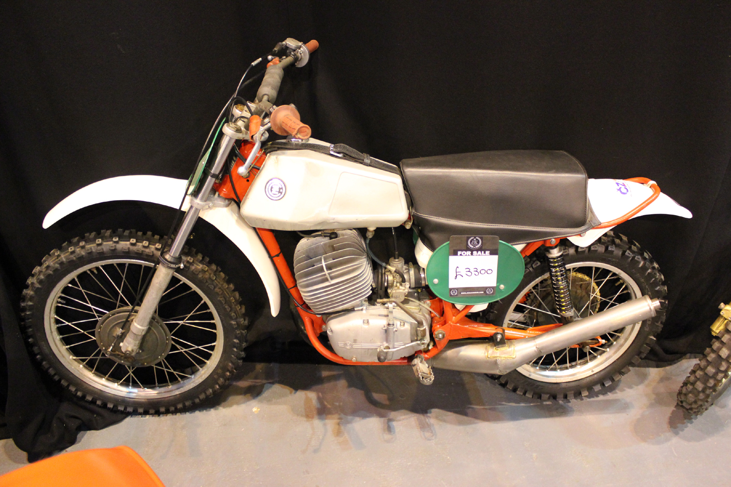 classicdirtbikerider.com-photo by Mr J-2015 Telford classic dirt bike show-CLASSIC CZ SCRAMBLER...