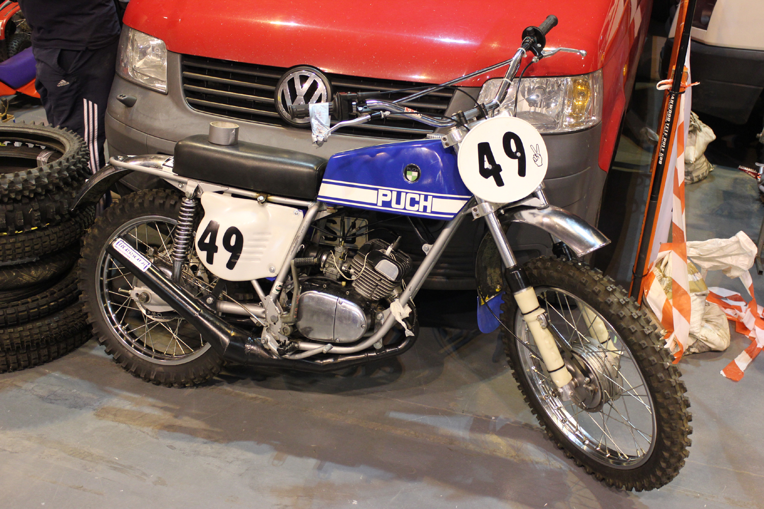 classicdirtbikerider.com-photo by Mr J-2015 Telford classic dirt bike show-CLASSIC PUCH SCRAMBLER