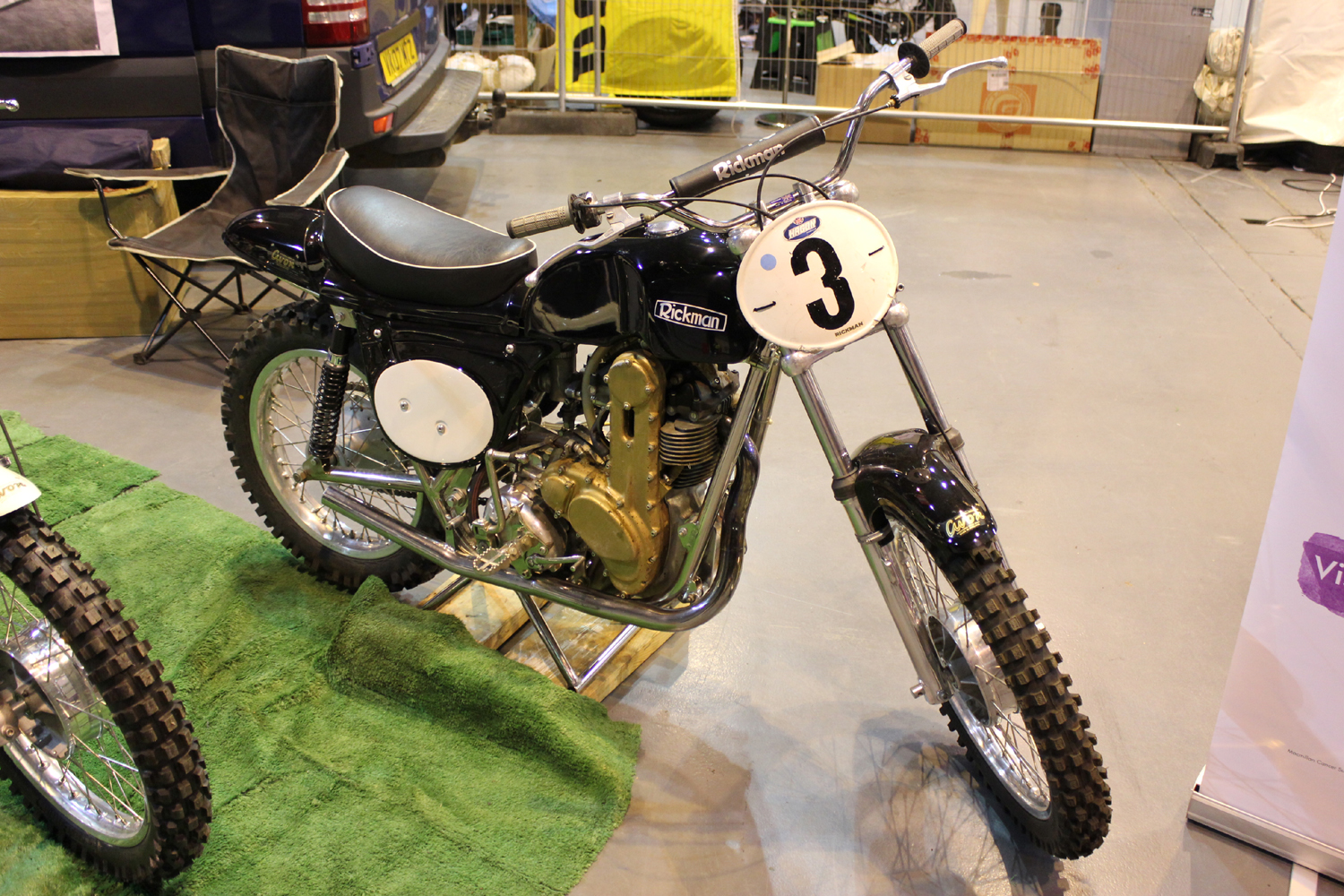 classicdirtbikerider.com-photo by Mr J-2015 Telford classic dirt bike show-CLASSIC RICKMAN SCRAMBLER