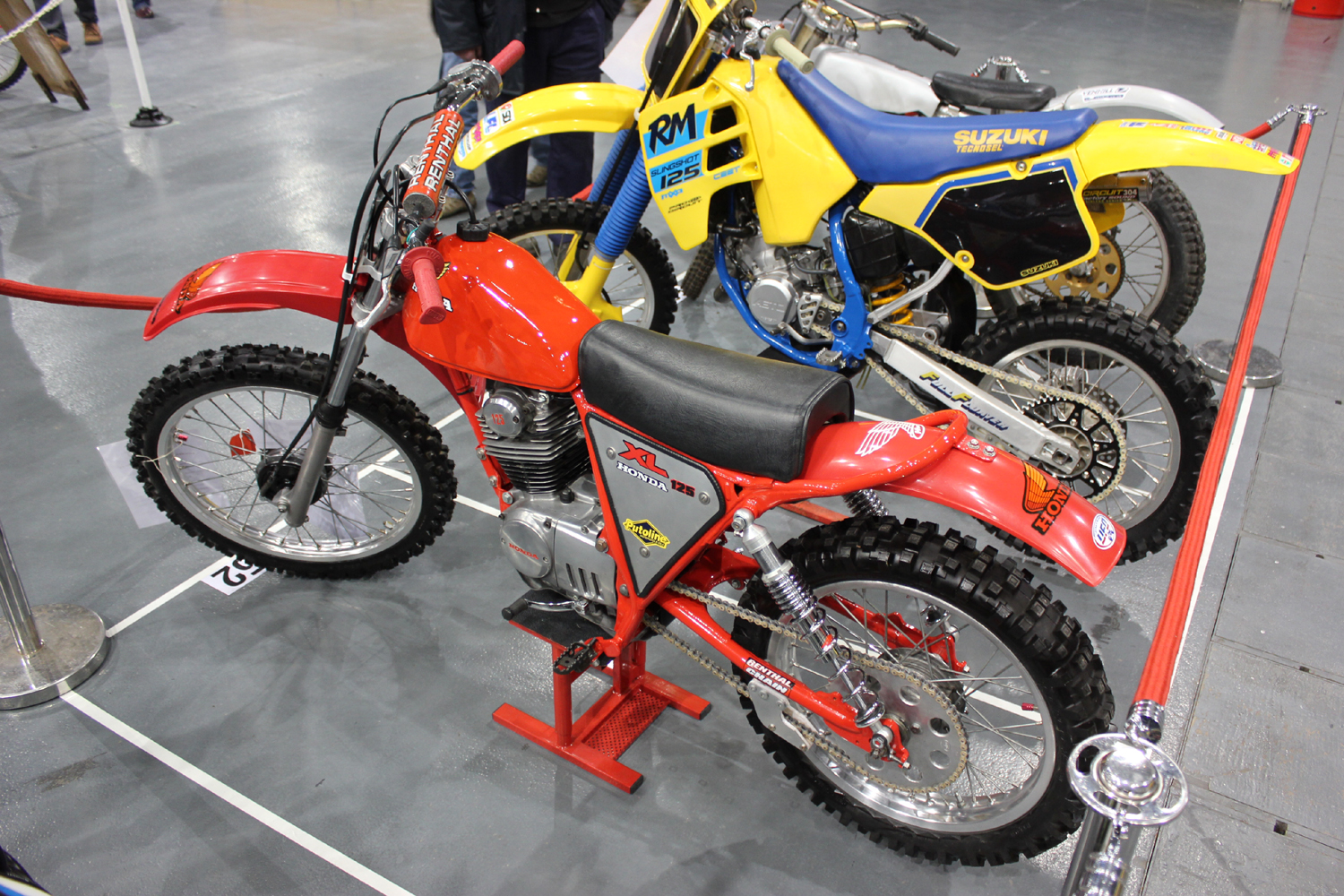 classicdirtbikerider.com-photo by Mr J-2015 Telford classic dirt bike show-HONDA XL125