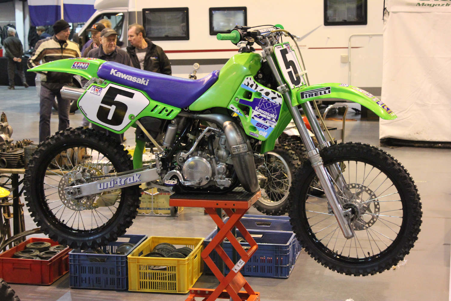 classicdirtbikerider.com-photo by Mr J-2015 Telford classic dirt bike show-KAWASAKI KX500