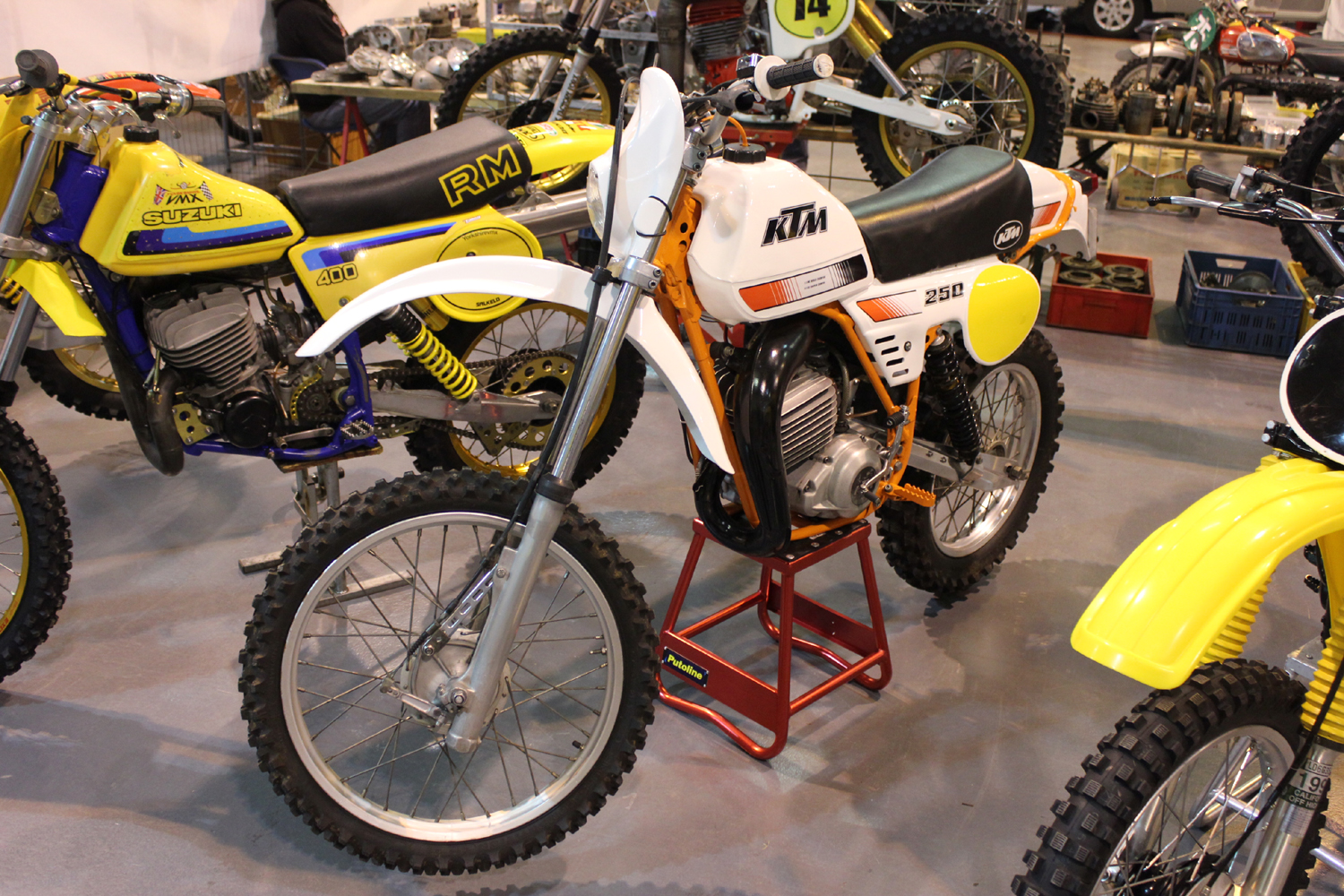 classicdirtbikerider.com-photo by Mr J-2015 Telford classic dirt bike show-KTM TWINSHOCK ENDURO