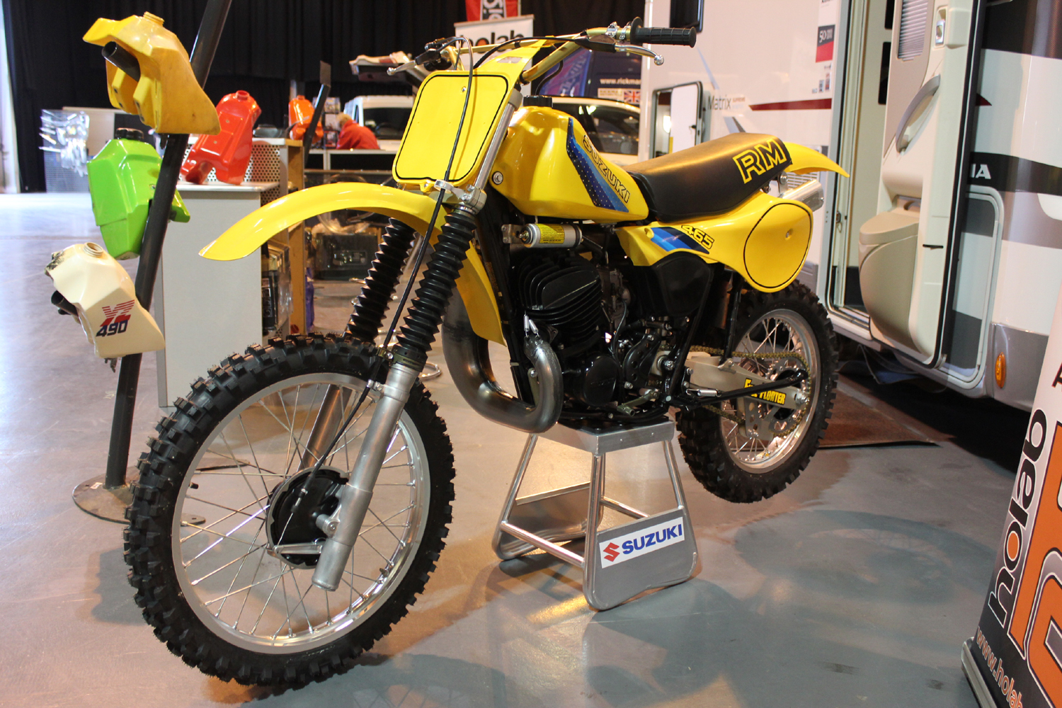 classicdirtbikerider.com-photo by Mr J-2015 Telford classic dirt bike show-SUZUKI RM465-