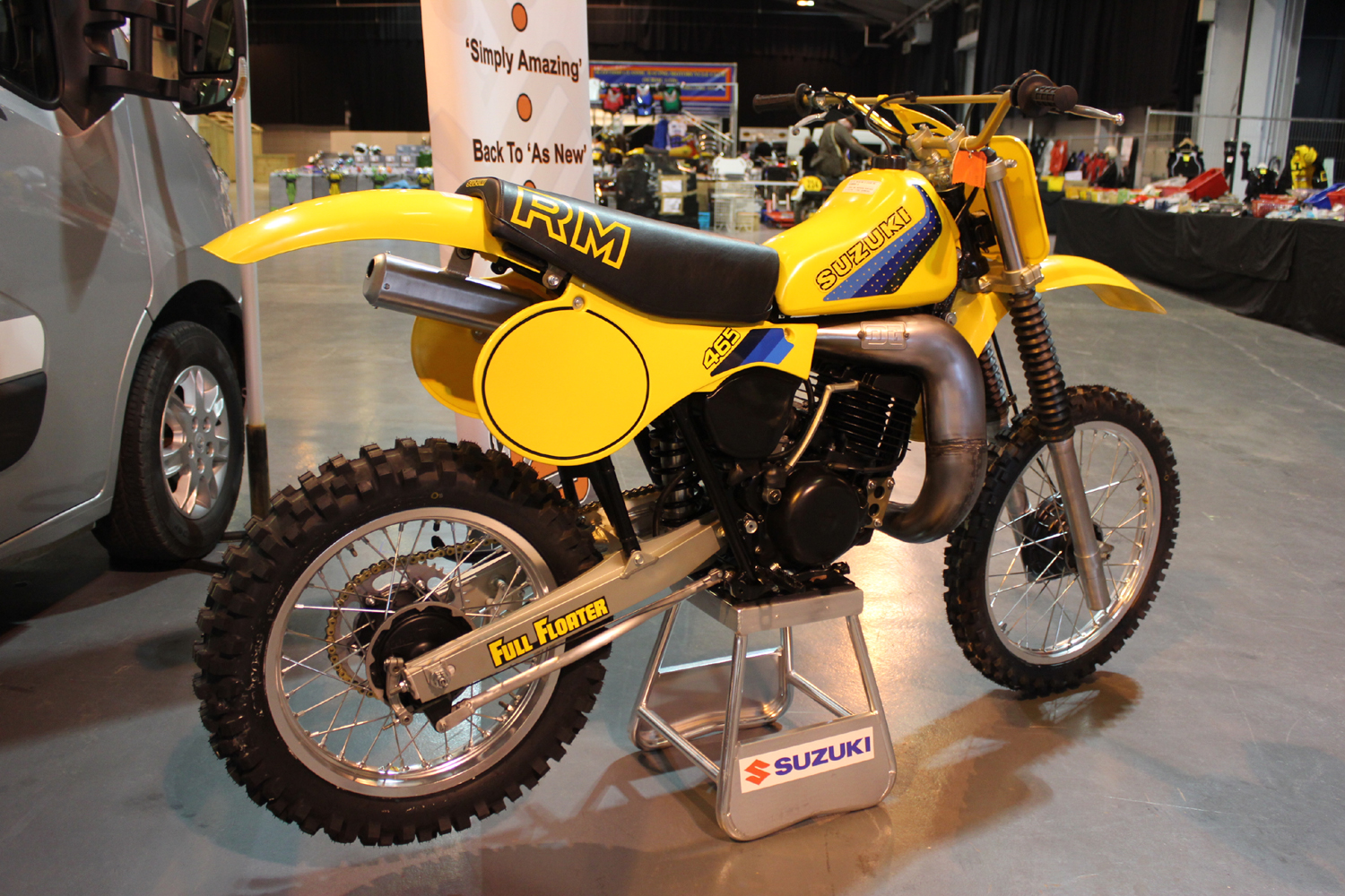 classicdirtbikerider.com-photo by Mr J-2015 Telford classic dirt bike show-SUZUKI RM465