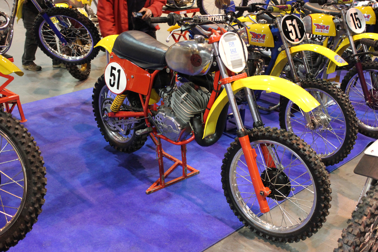 classicdirtbikerider.com-photo by Mr J-2015 Telford classic dirt bike show-TWINSHOCK CZ MOTOCROSS