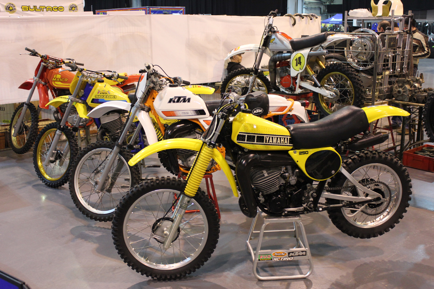 classicdirtbikerider.com-photo by Mr J-2015 Telford classic dirt bike show-YZ-KTM-SUZUKI-MAICO