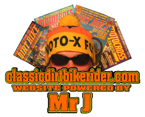 classicdirtbikerider.com specialist website for the classic & vintage dirt bike owner rider racer enthusiast
