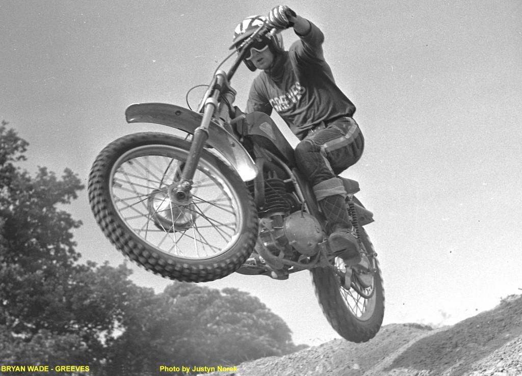 BRYAN WADE - GREEVES..Photo by Justyn Norek-classicdirtbikerider.com