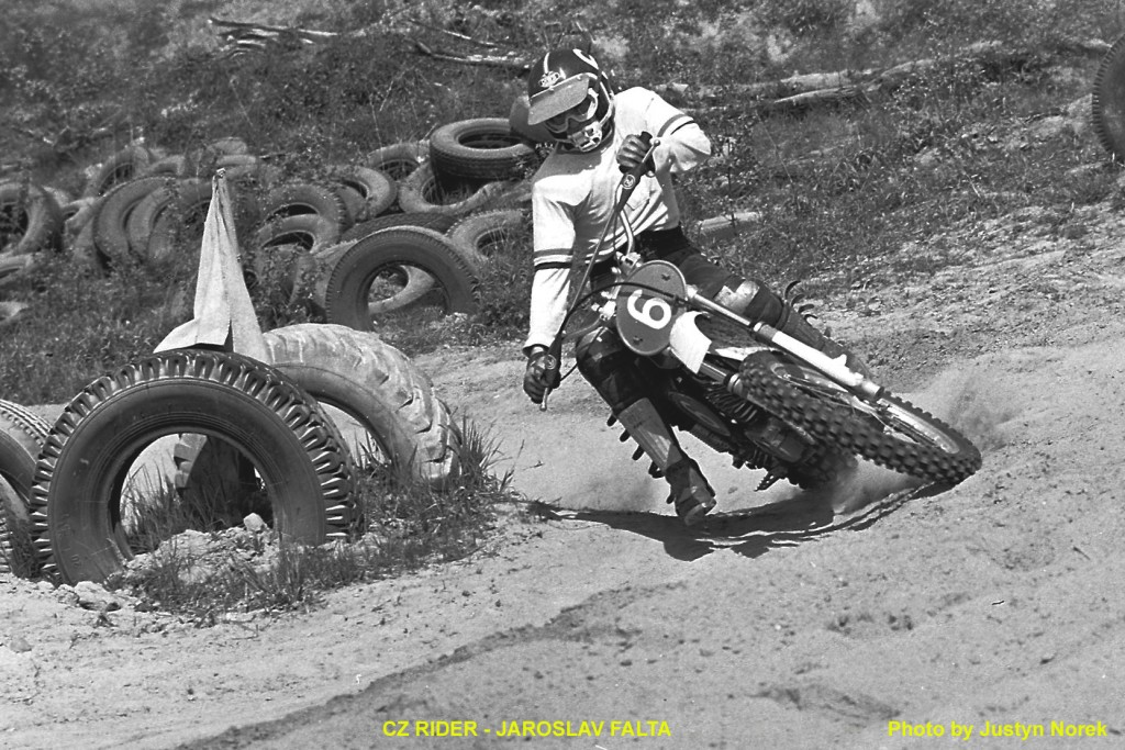 CZ RIDER - JAROSLAV FALTA...Photo by Justyn Norek-classicdirtbikerider.com