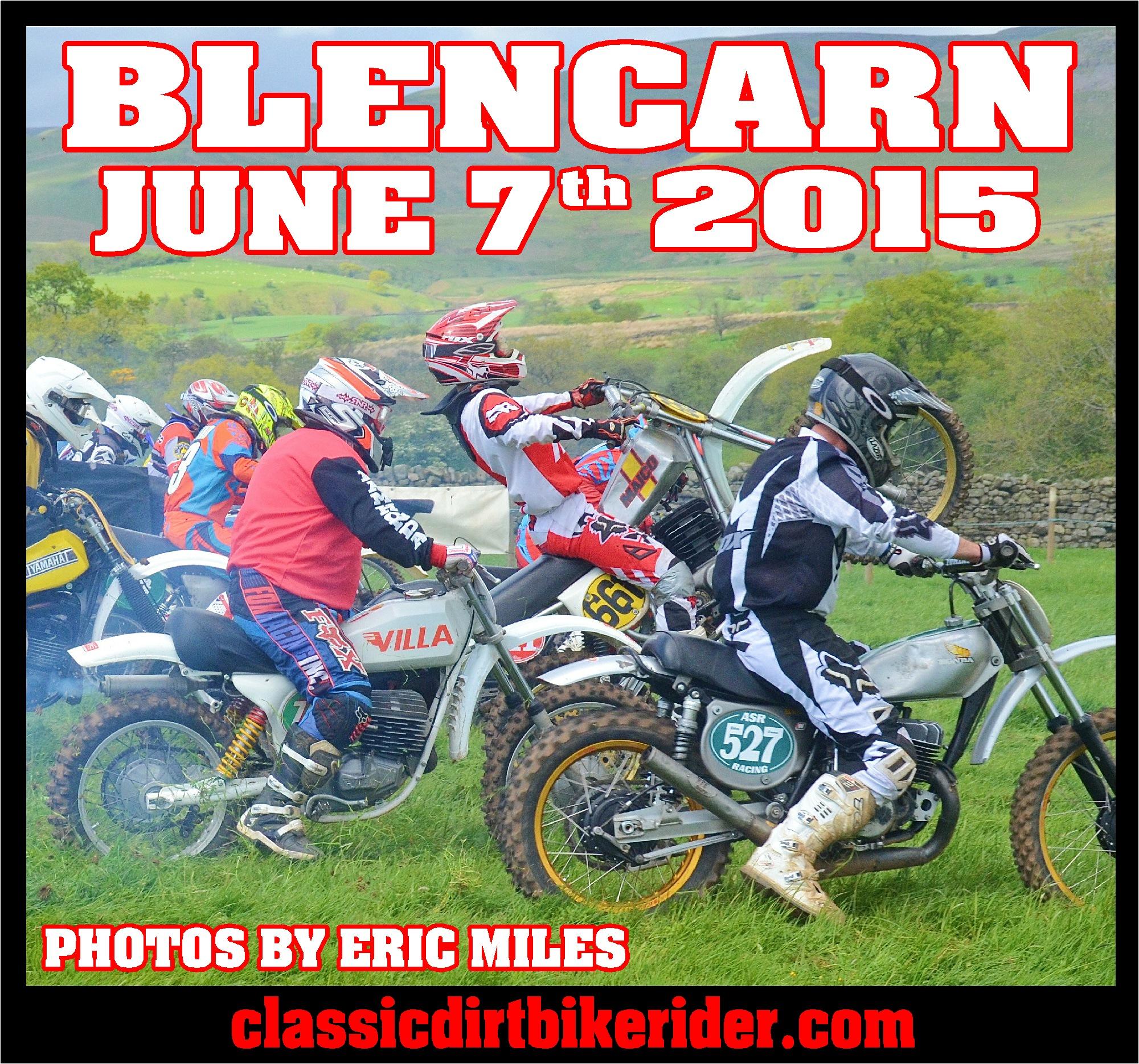 Classic scramble championship round 2 Blencarn Cumbria june 7th 2015 classicdirtbikerider.com
