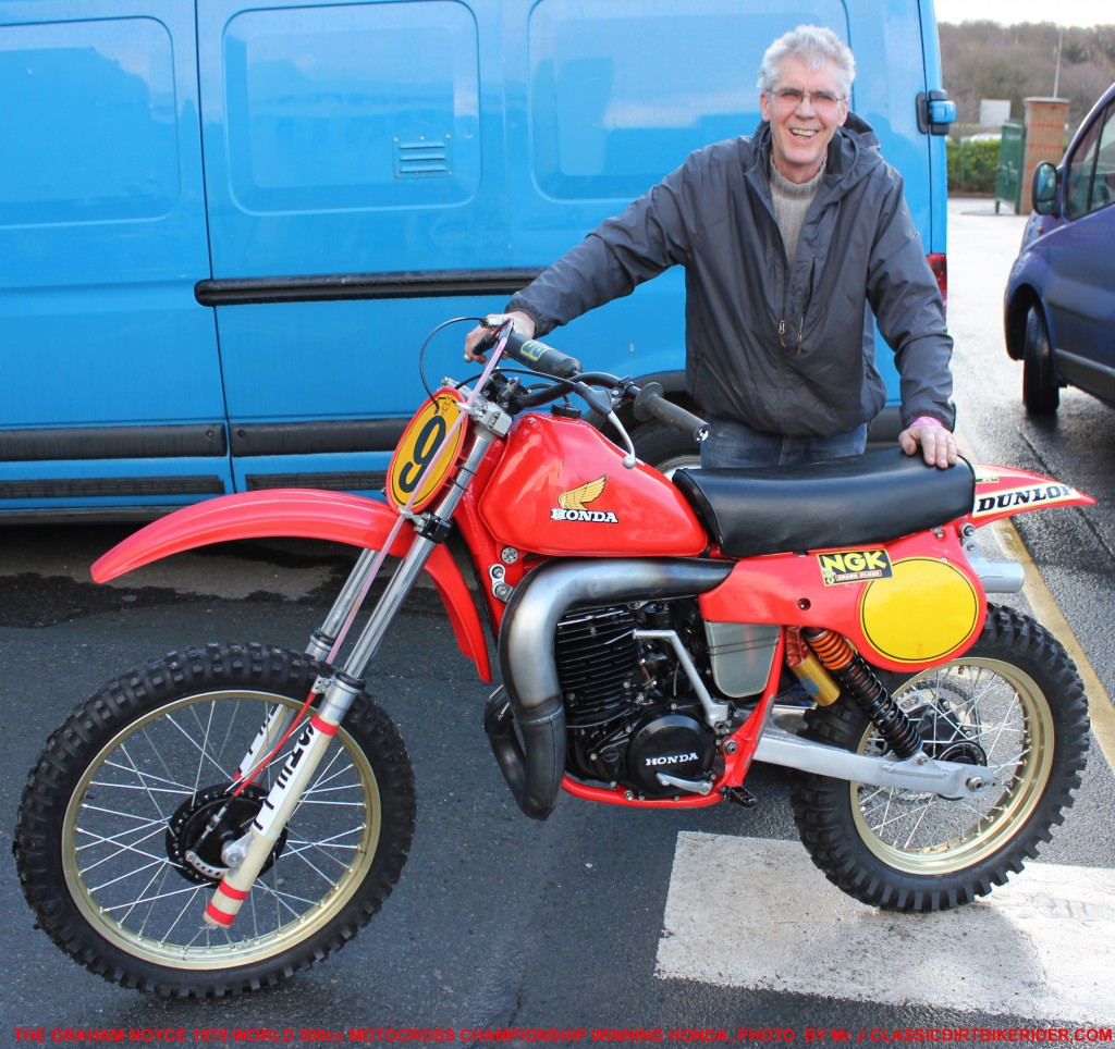 GRAHAM NOYCE 1979 WORLD 500cc MOTOCROSS CHAMPION WORKS FACTORY HONDA 1 classicdirtbikerider.com photo by Mr J 2015