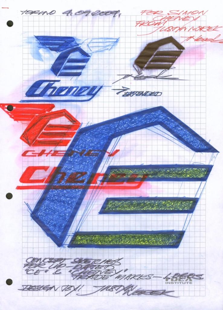 ORIGINAL ERIC CHENEY  LOGO DESIGN BY JUSTYN NOREK-classicdirtbikerider.com