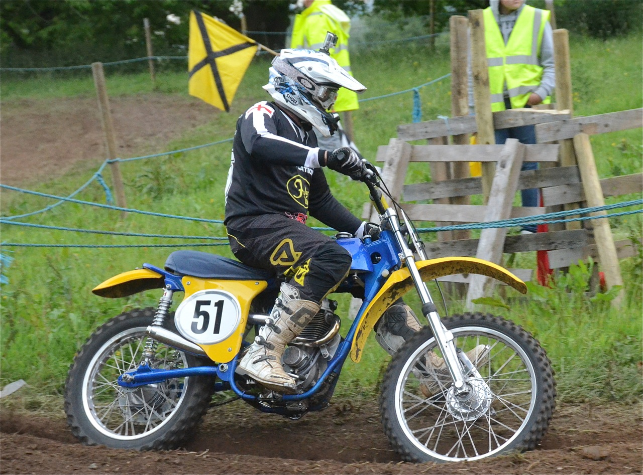 cholmondeley pageant of power 2015 classic scramble demonstration races classicdirtbikerider.com 6