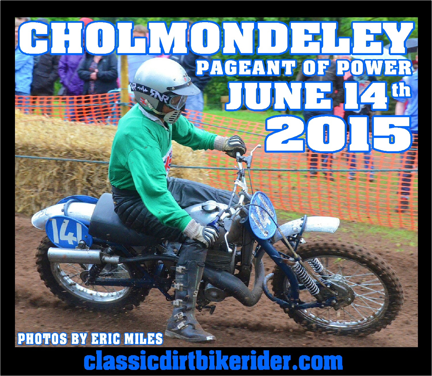 cholmondeley pageant of power 2015 photo image picture classicdirtbikerider.com classic scrambles scramble