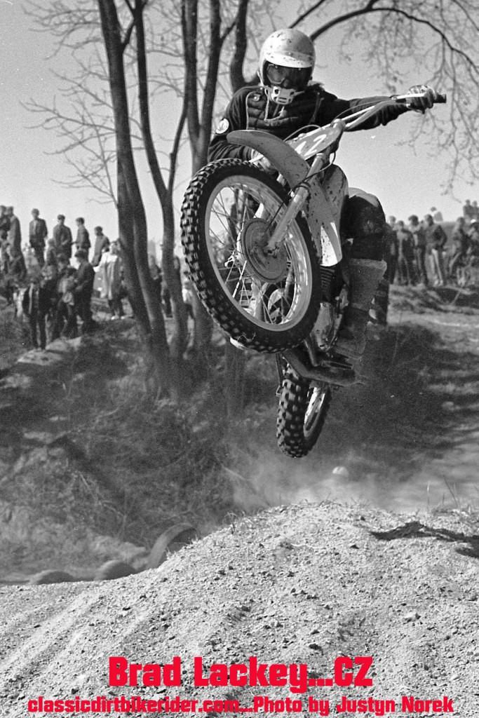 classicdirtbikerider.com...Justyn Norek Photo...Brad Lackey...CZ