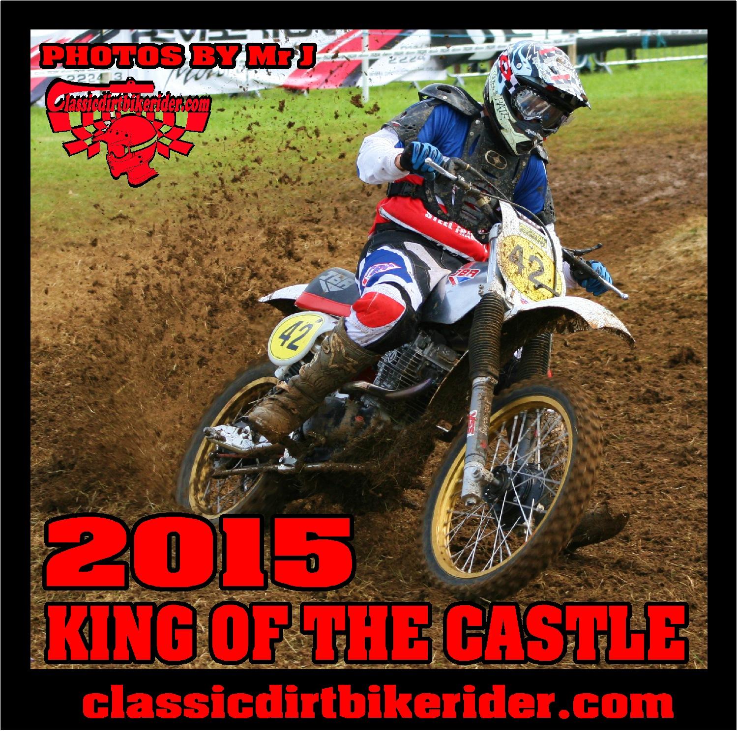2015 KING OF THE CASTLE PHOTOS images classicdirtbikerider.com maico Honda Husqvarna Suzuki Yamaha ccm ksi thumper kawasaki vintage twinshock motocross..1