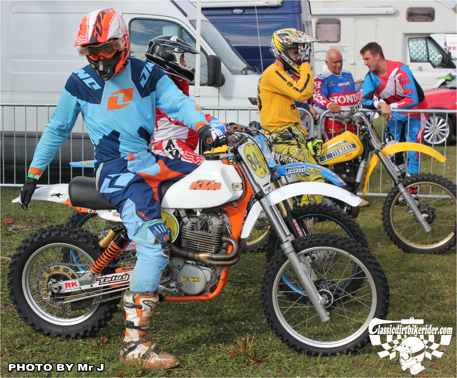 MX Vintage Bonanza 2015 Ford Moto Park July 19th classicdirtbikerider.com 13 KTM FOURSTROKE TWINSHOCK BIKE