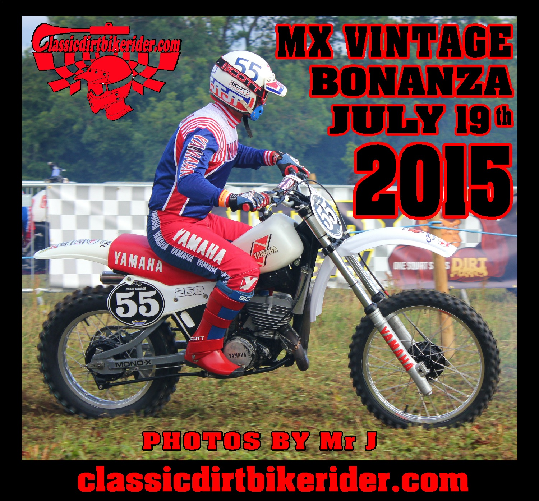 MX Vintage Bonanza 2015 Photos Round 4 Ford Moto Park July 19th classicdirtbikerider.com