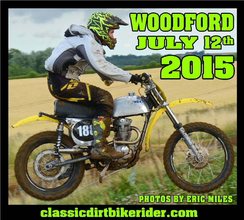 Northampton Woodford Classic Scramble Photos July 2015 Greeves & Sidecar Championship Round Eric Miles classicdirtbikerider.com