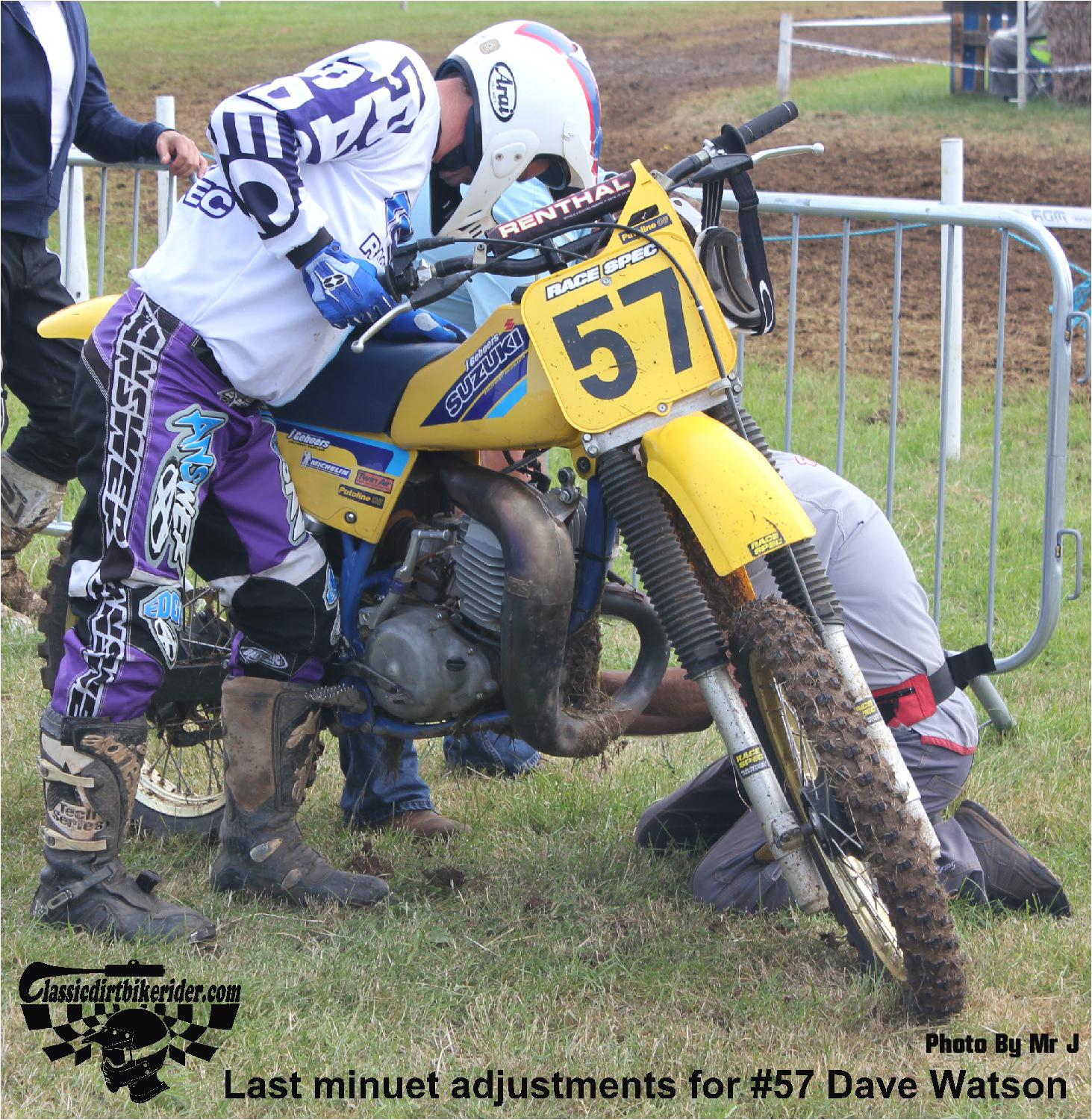 king of the castle 2015 photos Farleigh Castle twinshock motocross classicdirtbikerider.com 18 DAVE WATSON
