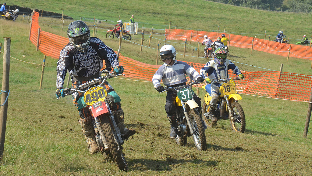 Vintage motocross The Nostalgia Scramble 2015 photos Sedbergh 23rd August classicdirtbikerider.com 11