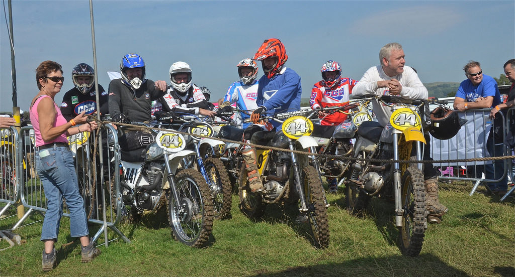 Vintage motocross The Nostalgia Scramble 2015 photos Sedbergh 23rd August classicdirtbikerider.com 12