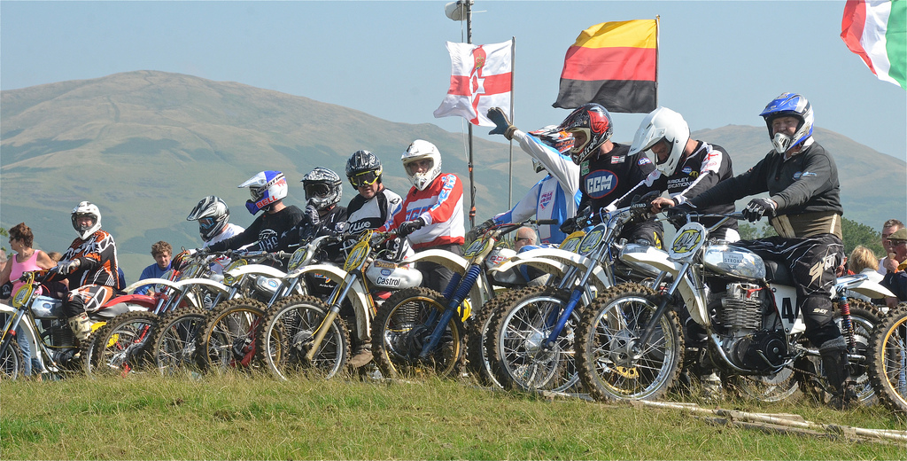 Vintage motocross The Nostalgia Scramble 2015 photos Sedbergh 23rd August classicdirtbikerider.com 13