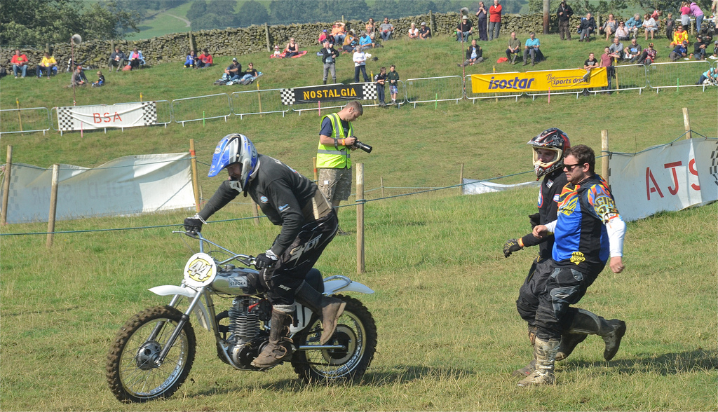 Vintage motocross The Nostalgia Scramble 2015 photos Sedbergh 23rd August classicdirtbikerider.com 14