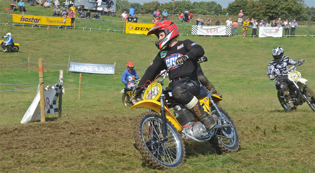 Vintage motocross The Nostalgia Scramble 2015 photos Sedbergh 23rd August classicdirtbikerider.com 15