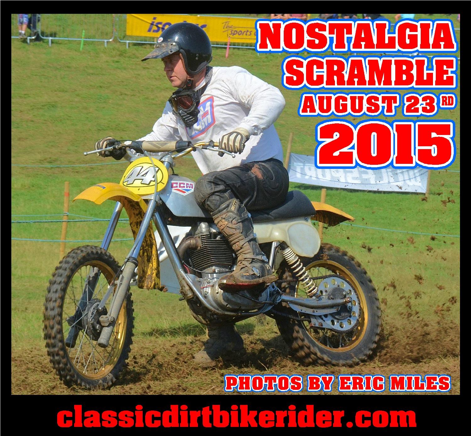 Vintage motocross The Nostalgia Scramble 2015 photos Sedbergh 23rd August classicdirtbikerider.com 1500