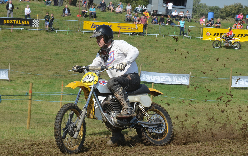 Vintage motocross The Nostalgia Scramble 2015 photos Sedbergh 23rd August classicdirtbikerider.com 17