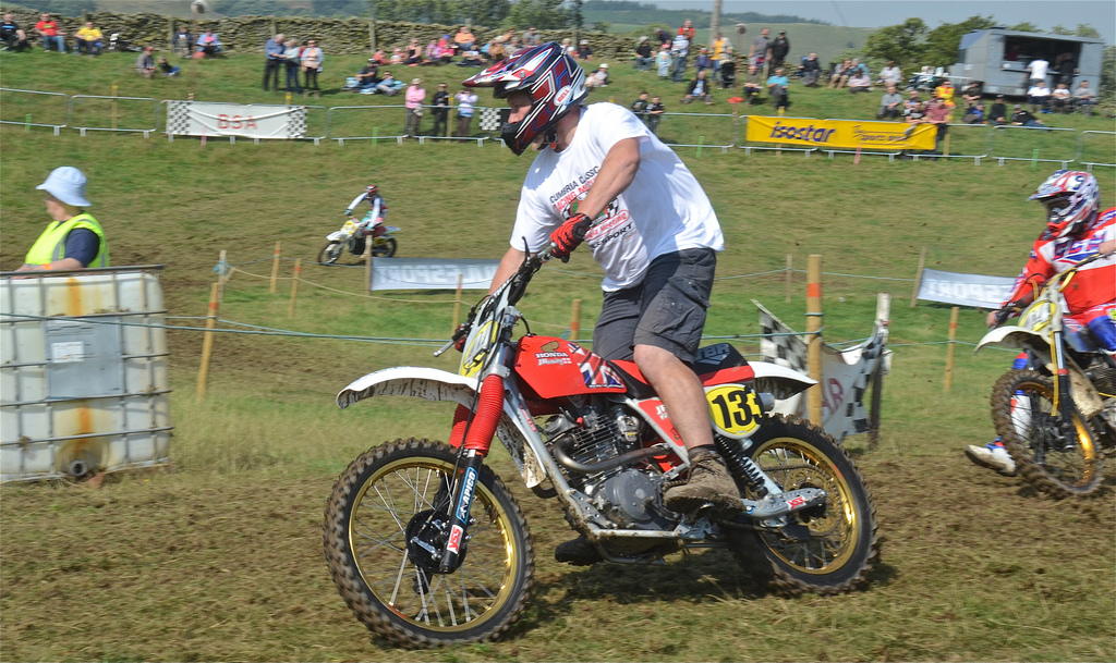 Vintage motocross The Nostalgia Scramble 2015 photos Sedbergh 23rd August classicdirtbikerider.com 19