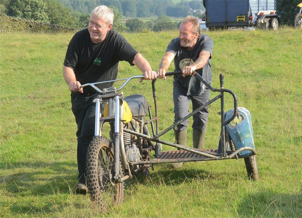 Vintage motocross The Nostalgia Scramble 2015 photos Sedbergh 23rd August classicdirtbikerider.com 2