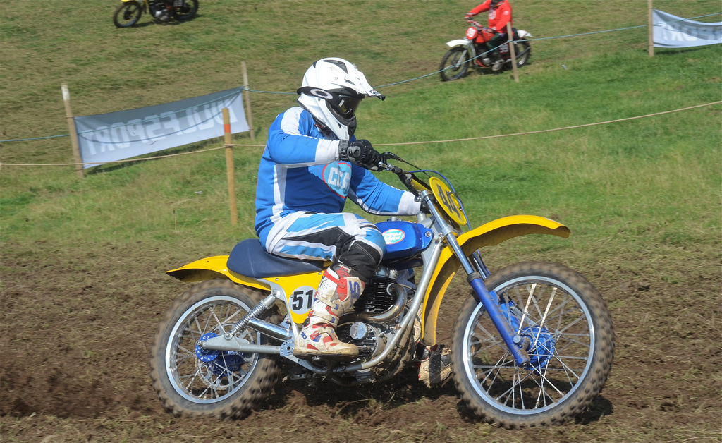 Vintage motocross The Nostalgia Scramble 2015 photos Sedbergh 23rd August classicdirtbikerider.com 20