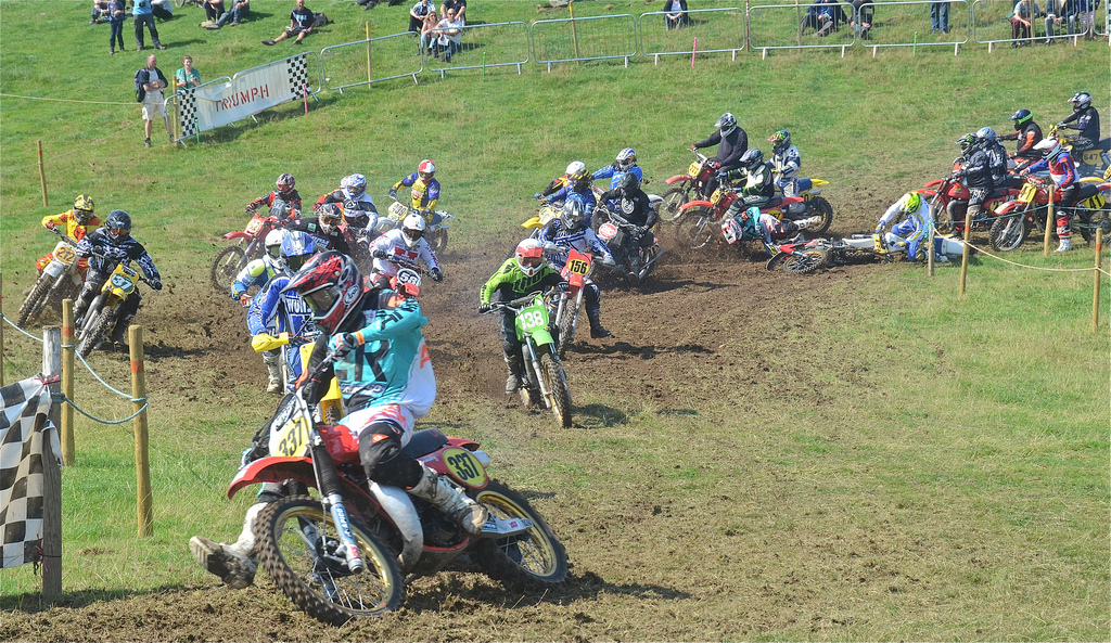 Vintage motocross The Nostalgia Scramble 2015 photos Sedbergh 23rd August classicdirtbikerider.com 26