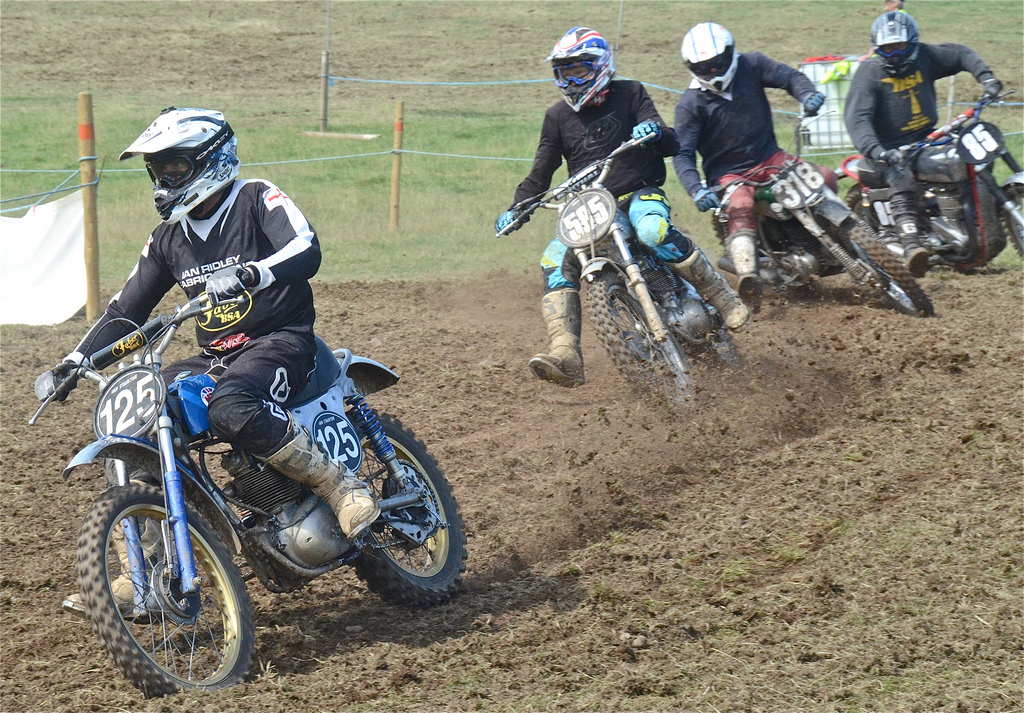 Vintage motocross The Nostalgia Scramble 2015 photos Sedbergh 23rd August classicdirtbikerider.com 36