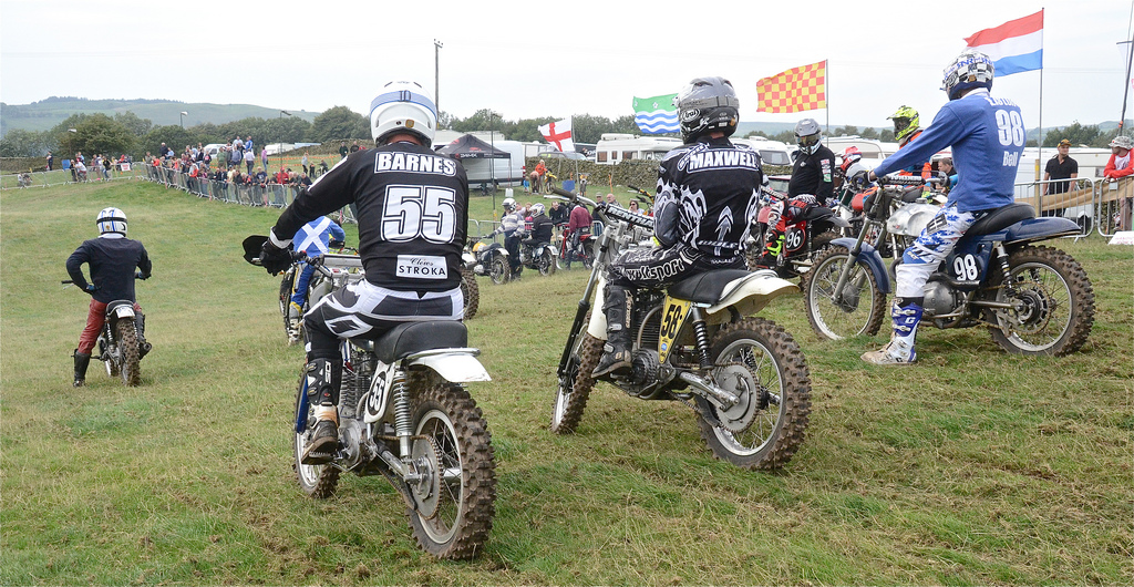 Vintage motocross The Nostalgia Scramble 2015 photos Sedbergh 23rd August classicdirtbikerider.com 46