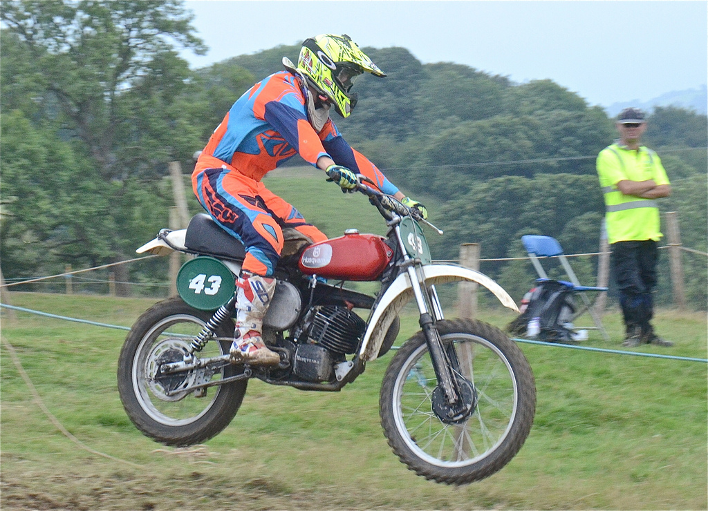 Vintage motocross The Nostalgia Scramble 2015 photos Sedbergh 23rd August classicdirtbikerider.com 50
