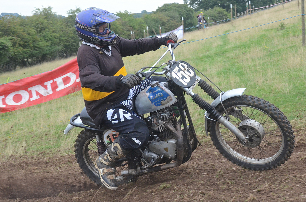 Hanbury Classic Sidecar Scramble Photos August 2015 classicdirtbikerider.com vintage motocross 12