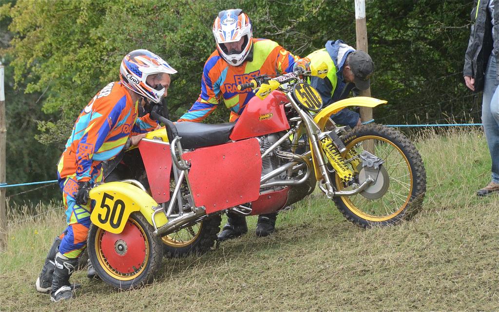 Hanbury Classic Sidecar Scramble Photos August 2015 classicdirtbikerider.com vintage motocross 25