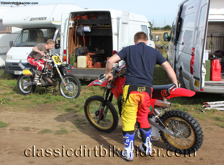 National Twinshock Championship 2015 Photos Round 6 Gale Common classicdirtbikerider.com Evo Vintage Motocross 1