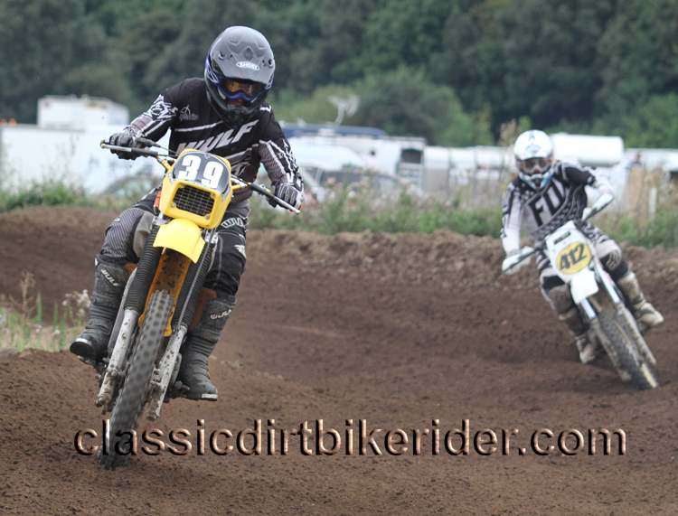 National Twinshock Championship 2015 Photos Round 6 Gale Common classicdirtbikerider.com Evo Vintage Motocross 100