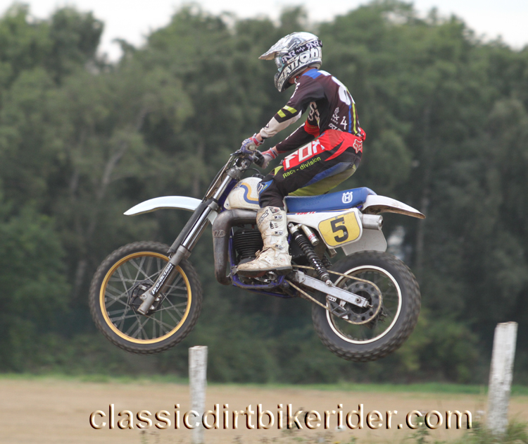 National Twinshock Championship 2015 Photos Round 6 Gale Common classicdirtbikerider.com Evo Vintage Motocross 110
